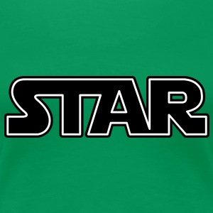 Star | Prominent T-Shirts - Premium T-skjorte for kvinner