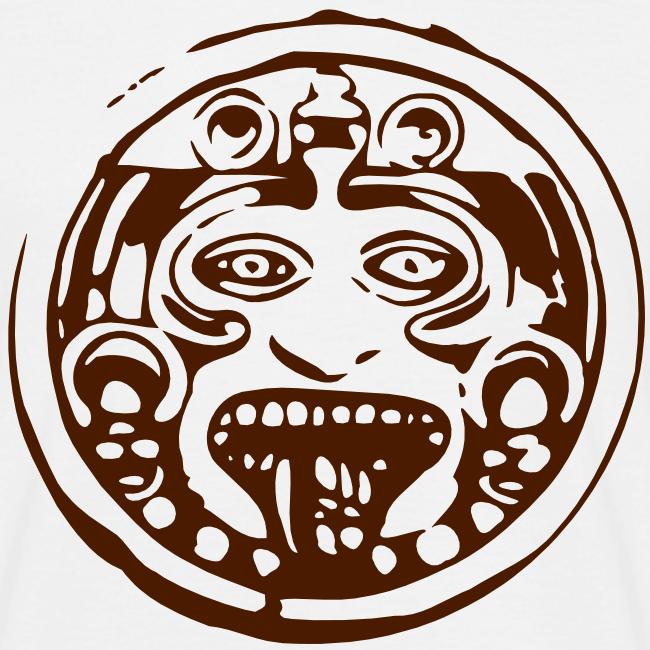 Mayan face terra