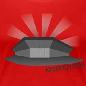 Kaiserslautern Fussballstadion for Girls - Frauen Premium T-Shirt