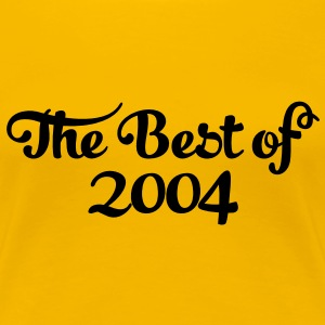 Geburtstag - Birthday - the best of 2004 (it) T-shirt - Maglietta Premium da donna