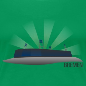 Bremen Fussballstadion for Girls - Frauen Premium T-Shirt