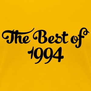Geburtstag - Birthday - the best of 1994 (dk) T-shirts - Dame premium T-shirt