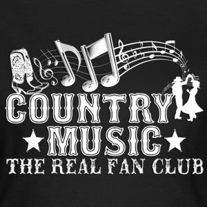 country music the real fan club T-Shirts - Women's T-Shirt