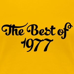 Geburtstag - Birthday - the best of 1977 (uk) T-Shirts - Women's Premium T-Shirt