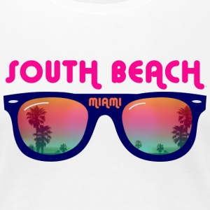 South Beach Miami Tee shirts - T-shirt Premium Femme