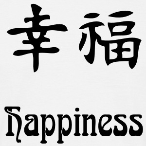 happiness Tee shirts - T-shirt Homme
