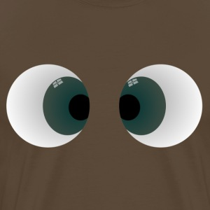 Comic Bug Eyes - Men's Premium T-Shirt