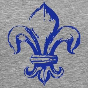 Tee shirts fleur de lys spreadshirt - Symbole fleur de lys ...