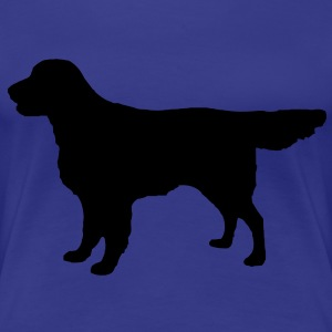 Flatcoat Retriever Dog Tee shirts - T-shirt Premium Femme