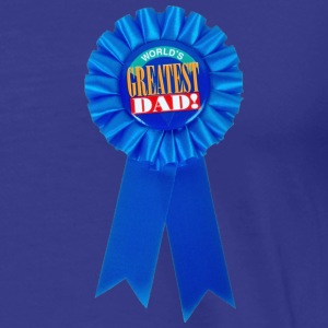 Worlds Greatest Dad fathers day - Men's Premium T-Shirt
