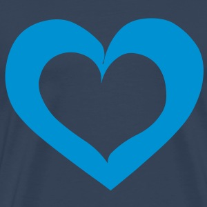Heart Love T-Shirts - Men's Premium T-Shirt