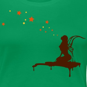 fairy, pixi, elf, star,  T-Shirts - Women's Premium T-Shirt
