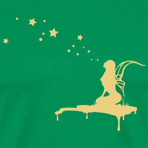 fairy, pixi, elf, star T-shirts - Herre premium T-shirt