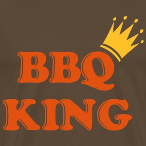 bbq_king_crown_2 Tee shirts - T-shirt Premium Homme