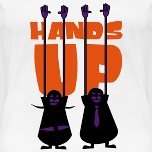 Hands-Up T-Shirts - Frauen Premium T-Shirt