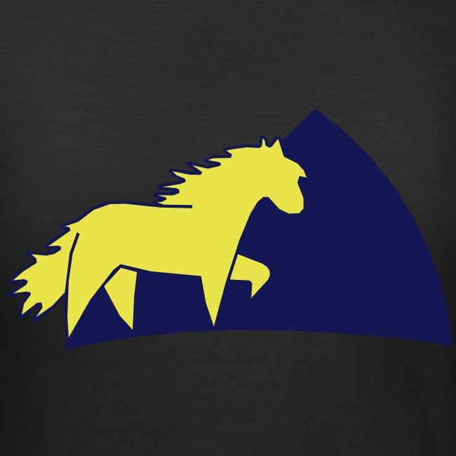 Damen/woman T-shirt Ponygirl
