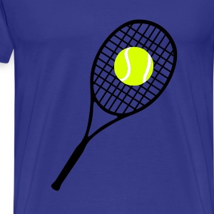 Tennis T-Shirts - Premium T-skjorte for menn