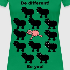 be different - be colourfull T-Shirts - Frauen Premium T-Shirt
