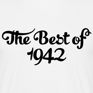 Geburtstag - Birthday - the best of 1942 (fr) Tee shirts - T-shirt Homme