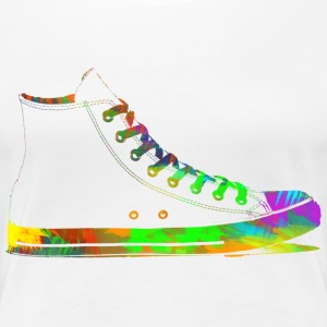 Rainbow Shoes T-Shirts - Frauen Premium T-Shirt