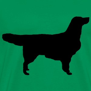 Golden Retriever T-Shirts - Männer Premium T-Shirt