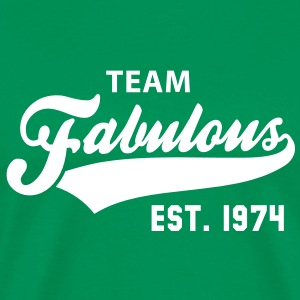 TEAM Fabulous Est. 1974 Birthday Anniversary T-Shirt WG - Men's Premium T-Shirt
