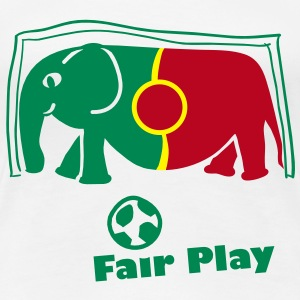 fair play Portugal T-Shirts - Frauen Premium T-Shirt