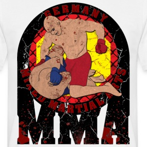 GERMANY MIXED MARTIAL ARTS MMA Blood Edition T-Shi - Männer T-Shirt