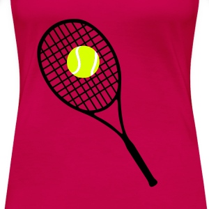 Tennis T-Shirts - Premium T-skjorte for kvinner