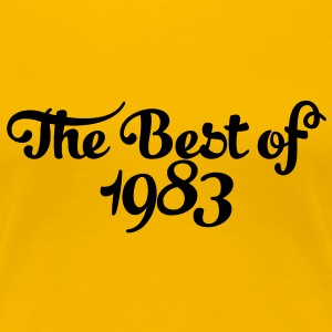 Geburtstag - Birthday - the best of 1983 (dk) T-shirts - Dame premium T-shirt