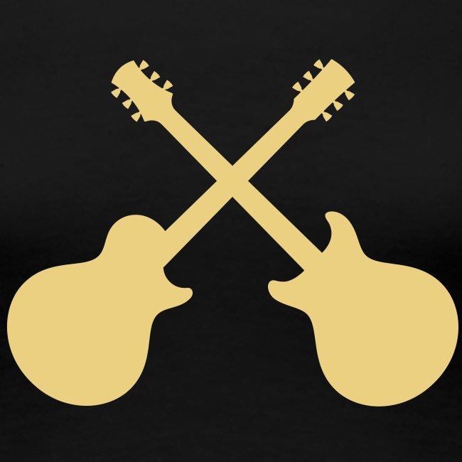 Helliver Guitars Crossed Single/Double Women's T-Shirt
