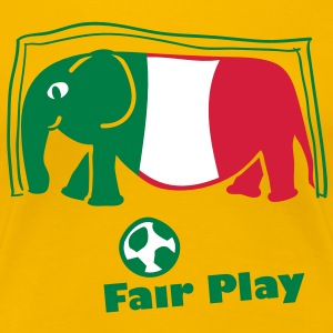fair_play Italien T-Shirts - Frauen Premium T-Shirt