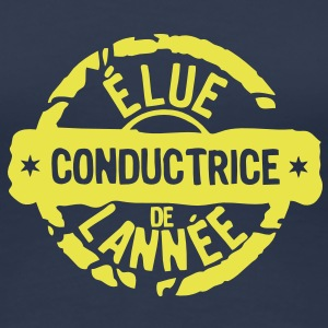 conductrice elue annee meilleurs tampon Tee shirts - T-shirt Premium Femme