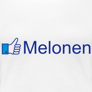 Like Melonen T-Shirts - Frauen Premium T-Shirt