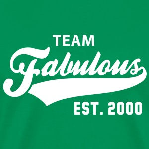 TEAM Fabulous Est. 2000 Birthday Anniversary T-Shirt WG - Men's Premium T-Shirt