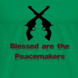 peacemakers T-Shirts - Men's Premium T-Shirt