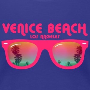 Venice Beach Los Angeles - Sonnenbrille T-Shirts - Frauen Premium T-Shirt