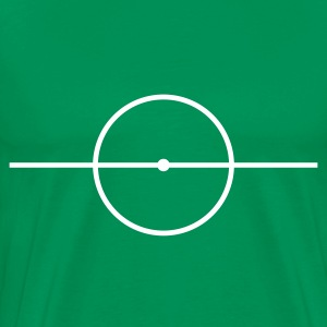 Football center circle - Men's Premium T-Shirt