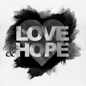 LOVE and HOPE T-Shirts - Frauen Premium T-Shirt