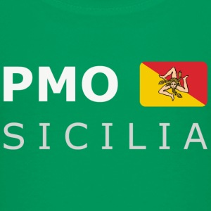 Teenager T-Shirt PMO SICILIA white-lettered - T-shirt Premium Ado