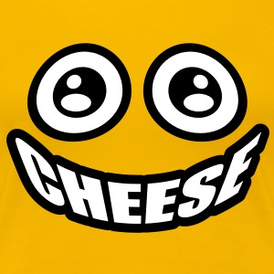 Cheese | Smiley T-Shirts - Vrouwen Premium T-shirt