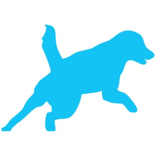 Apportering till vardag och fest blå hund