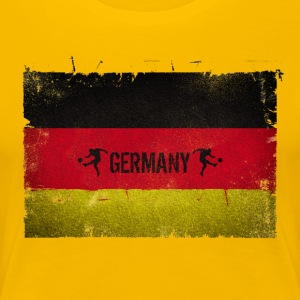 Germany Deutschland Flagge T-Shirts - Frauen Premium T-Shirt
