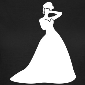 Beautiful Bride in a dress pretty T-Shirts - Women's T-Shirt