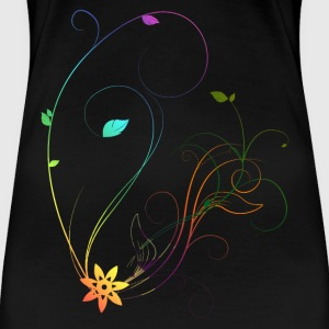 Flower - Frauen Premium T-Shirt