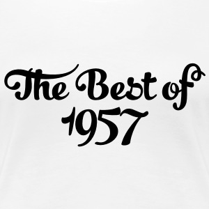 Geburtstag - Birthday - the best of 1957 (uk) T-Shirts - Women's Premium T-Shirt
