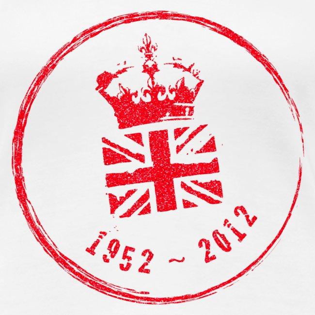 Diamond Jubliee Stamp - Large