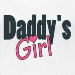 daddy's girl T-Shirts - Frauen Premium T-Shirt