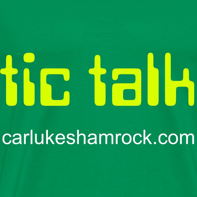 tictalk - tshirt green