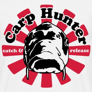 Carp Hunter catch and release - Männer T-Shirt